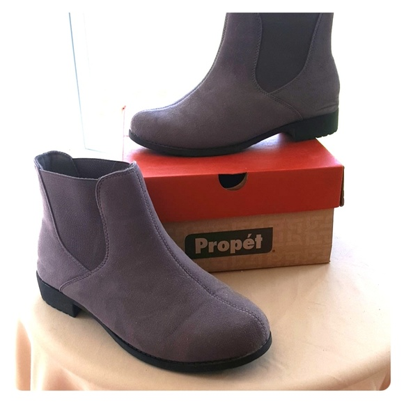 Prophet Scout Grey Ankle Boot 10 WW